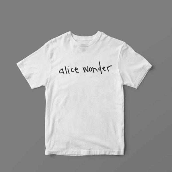 Camiseta Oficial Alice Wonder Blanca