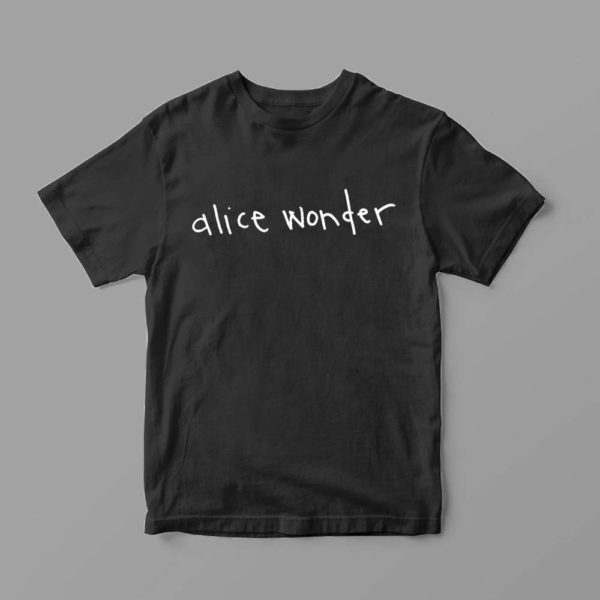 Camiseta Oficial Alice Wonder Negra